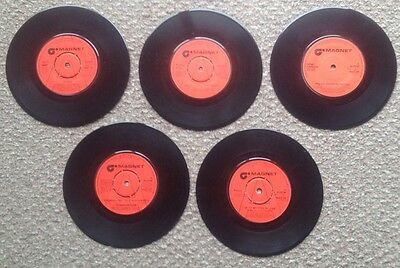 5 Magnet Records '45s Late 70'S Funk.. Rare!