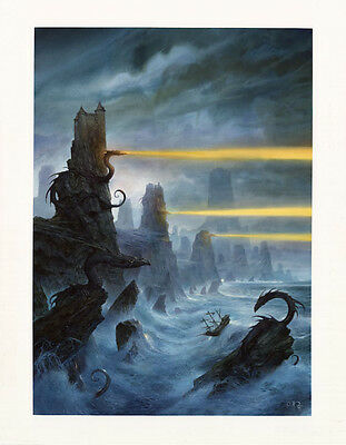 Limited Fine Art Print édition by John Howe for the Swiss Fantasy Show