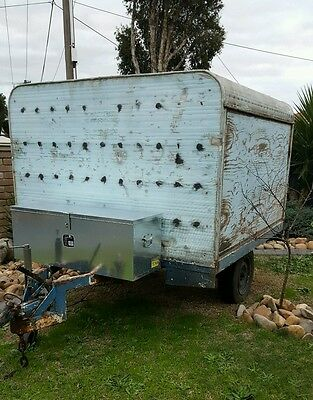 Used 6x4 trailer covered -melb