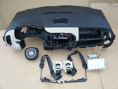 Fiat 500L Kit Airbag - Cinture + Centralina Airbag Guida + Passegger + Cruscotto