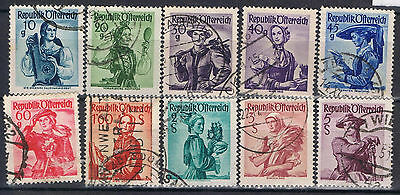 Austria 1948 Costumes selection to 5 sch SG 1110 on Used