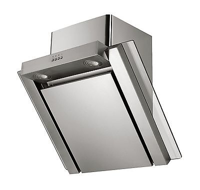 MILLAR KH701V-AS 70cm Stainless Steel Angled Kitchen Cooker Extractor Hood