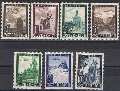 Austria 1947 Vienna Fair set Mint MH