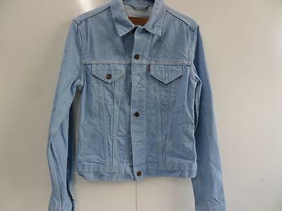 "Girls Unbranded Denim Jacket Blue Size M 30"" Chest Very Good Sku No Sc244"