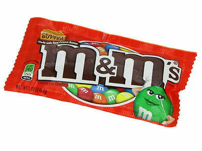 M & M's  Peanut Butter Packet - From USA