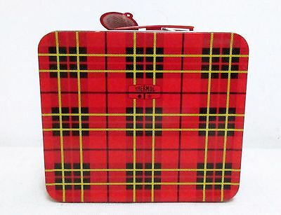 Thermos Red Plaid Metal Lunchbox West Elm Heritage Traveling Collection