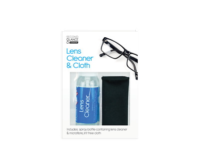 Optical Glasses Spray Lens Cleaner Microfibre Cloth Wipes Camera Spectacle