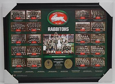 South Sydney Rabbitohs The Historical Series L/E Print Include 2014 NRL Premiers