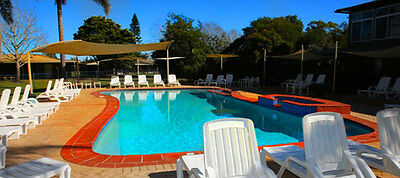 Tuncurry Lakeside Village Resort: school holiday camp site: 24/1-31/1/17