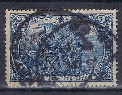 Germany 1902 2 Mark blue SG 94 Mi 82a? Used