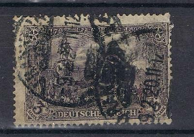 Germany 1902 3 Mark black SG 95 Mi 80B? Used