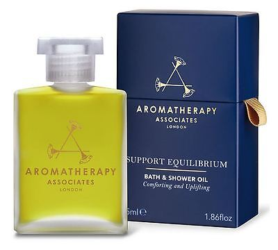 Aromatherapy Associates Support Equilibrium 55ml Bath & Shower Oil RRP £45 BNIB