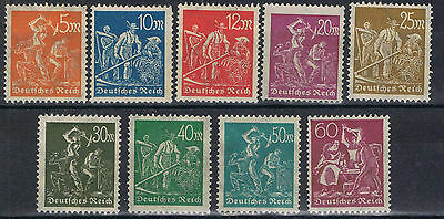 Germany 1923 set to 50 mark SG 249-56 Mint MH/MNG