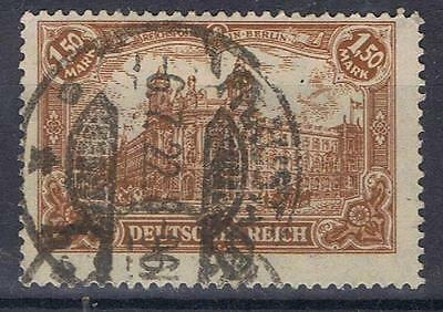 Germany 1916 1 Mark 50p Post Office SG 115 Used