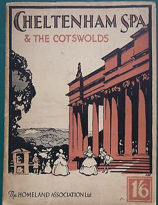 Cheltenham Spa and the Cotswolds Photos by J Dixon Scott 1931 Guide Book
