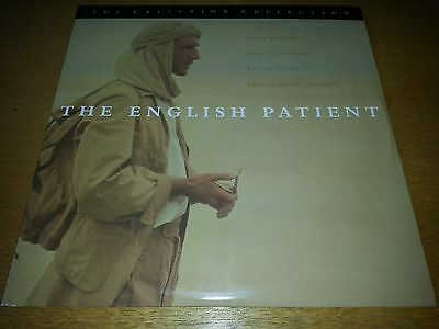 The ENGLISH PATIENT - CRITERION LASERDISC -  NTSC USA