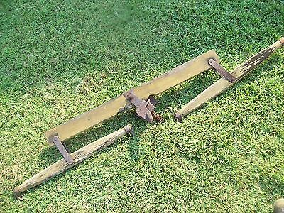 Vintage Double Tree Harness for horse and carriage yoke