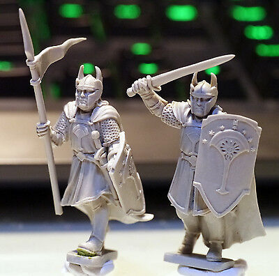 Lord of the Rings LOTR Numenor Warrior & Spearman Finecast War Games Miniature