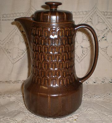 """Vintage 1960s WEDGWOOD Oven to Table 'Pennine"""" lidded coffee pot made in England"""