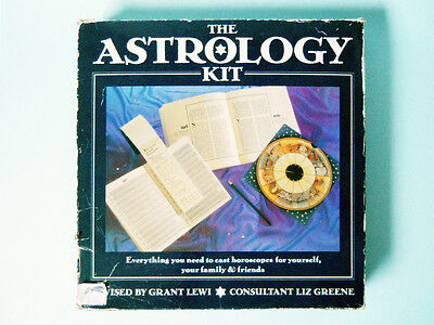 Vintage Boxed Grant Lewi Astrology Kit 1980's