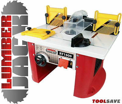 Lumberjack Router Table Integrated 1500W Variable Speed Motor 240v Bargain Price