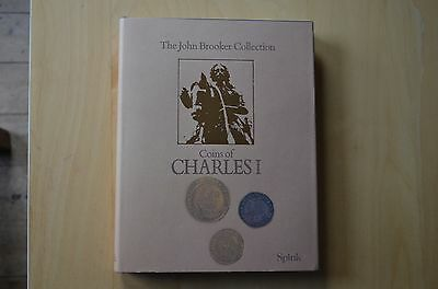 John Brooker Collection: Coins Of Charles 1 - Hardback With Dust Wrapper