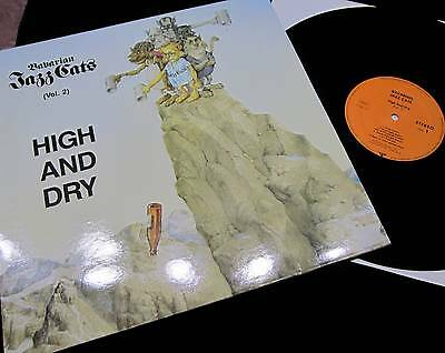 """12"""" - LP JAZZ CATS - HIGH AND DRY (Vol. 2) !!! 1985 !!! NEAR MINT !!!"""