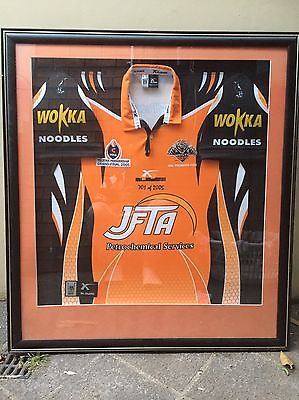 Wests Tigers 2005 Framed Premiers Jersey