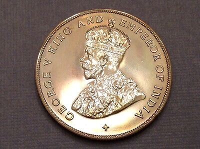 -1920 Straits Settlements George V Silver Dollar Proof Restrike