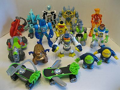 Fisher Price Planet Heros Action Figures Large Lot