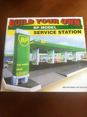 BP Model Build Your Own Service Station NEW