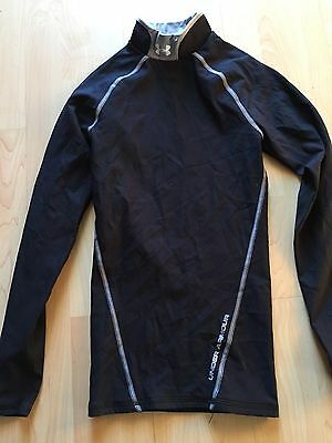 Under Armour Cold Gear Shirt, Brand New wo Tags, Adult Small,Mock Turtle,Black