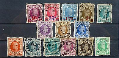 BELGIQUE COLLECTION  approx. 66 postage stamps№286-289