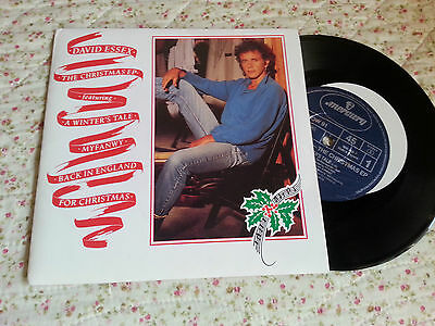 """David Essex  -  The Christmas Ep ( A Winter's Tale )   7""""  Ep"""