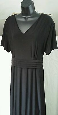 Ladies SOUTHEASTERN APARREL long black dress sz 16