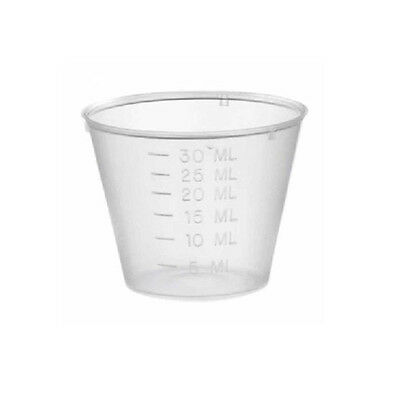 25 pcs of Easy-Life 30 ml Plastic Measuring Cups