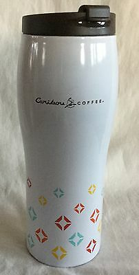 Tall Caribou Coffee Stainless Steel Insulated Travel Cup Mug