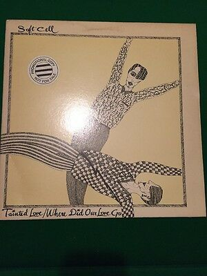 Soft Cell Vinyl  EXTREMELY RARE  PROMO Tainted Love/where Did Our Love Go