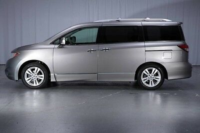 2011 Nissan Quest  1-Owner Rear Seat DVD Dual Glass Panel Roof NAVI BOSE Heated Leather SL