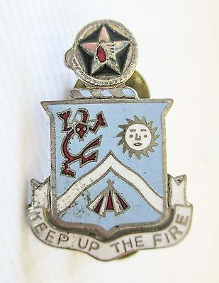 Enamelled Badge Insignia Us Army United States Dui 9Th Infantry Regiment