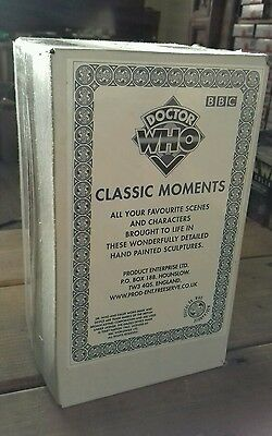 Ultra Rare Product Enterprise Limited Edition Doctor Dr Who Classic Moments Quar