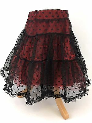 Little Darlings Red Tiered Skirt - 8 Years (BNWT)