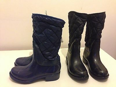 New with Tag - Children's multi purpose Boots with quilted fleece- rain & snow