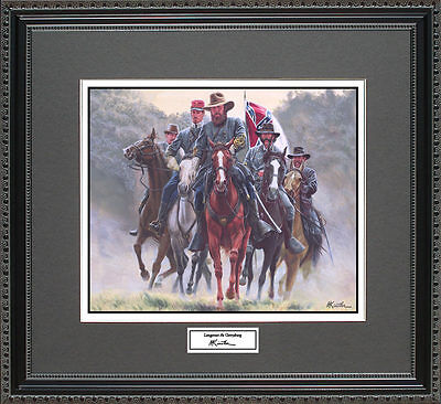 Mort Kunstler LONGSTREET AT GETTYSBURG  Framed Print Civil War Wall Art Gift