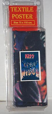 Sealed KISS Destroyer Textile Tapestry Poster 30x40 Gene Simmons Ace Frehley