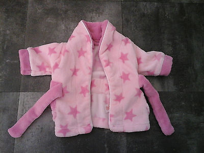 Pink Dressing Gown From Mothercare In Size Extra Small