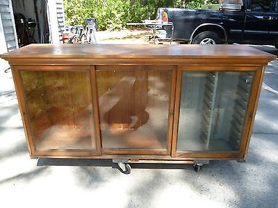Antique General Store Counter/ Display Case