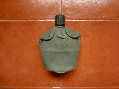 Portuguese Army M64 Water Bottle Canteen Early Type Africa War Original