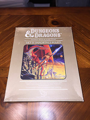 Dungeons And Dragons - Immortal Rules - Box Set 5- TSR - D&D