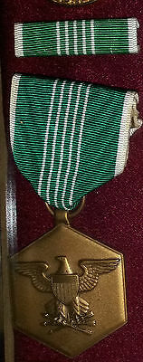 13 Army Commendation Medal with service ribbon bar